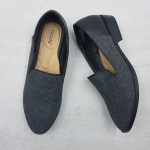 Nicole Faux Leather Eisa Flats